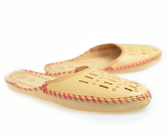 Items Similar To Mens House Slippers Leather Slippers Moccasin Shoes Boot Slippers Best Slippers