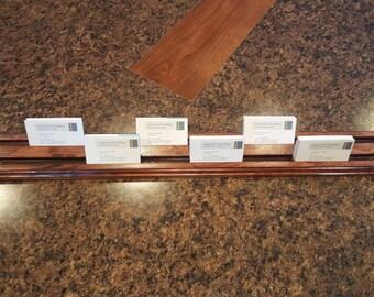 Multiple Business Card Holder / Display