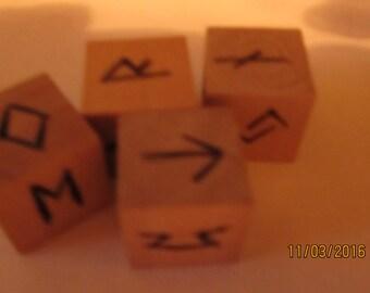 Rune Divination  Dice Divination