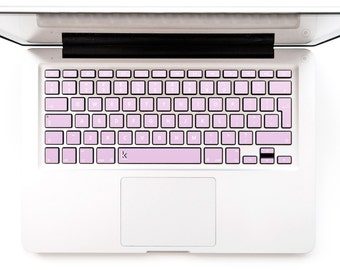 Macbook Sticker Pink Gold Rose Laptop Decal Keyboard Sticker for Macbook Mac Lenovo Asus Sony Acer Dell HP Samsung Toshiba # Pink Gold Rose
