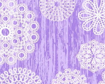 Knots and Loops in Lilac, Brambleberry Ridge Collection by Violet Craft for Michael Miller Fabrics 2138