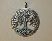 Tree Pendant in Sterling Silver