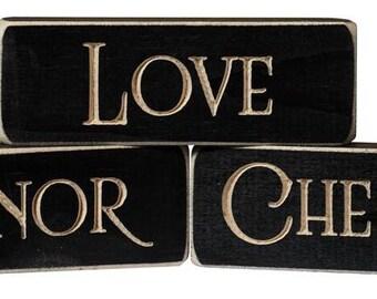 Love • Honor • Cherish Inspirational