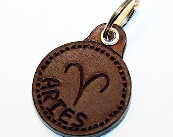 Zodiac Key Chain, Zodiac Symbol Keychain, Capricorn, Aquarius, Pisces, Aries, Taures, Gemini, Cancer, Leo, Virgo, Libra, Scorpio Sagittarius