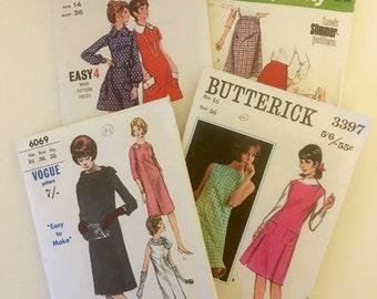 Vintage sewing patterns: Vogue, Butterick, Simplicity