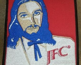 Jesus Christ JFC Embroidered patch KFC