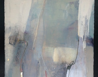Large Abstract Painting / Original Art, Abstract Painting on Paper / Contemporary Art, Abstract Expressionism, Minimal Art