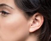 SALE 15% Tiny  gold earrings, small silver earrings, tiny post earring, tiny earring, small stud, tiny stud earrings, tiny earrings,  silver