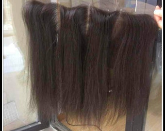 """100% top quality Virgin  lace frontal (13×4) hair piece. 10""""-20"""""""