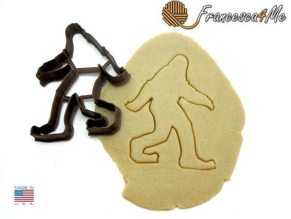 Sasquatch/Bigfoot Cookie Cutter/Multi-Size