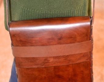 Weaved Messenger Bag