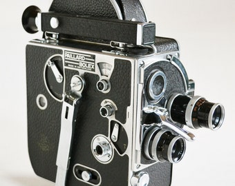 Bolex H8 Vintage 8mm Movie Camera Body