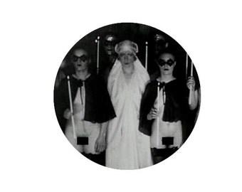 """Satanic Black Mass 1.25"""" pin"""