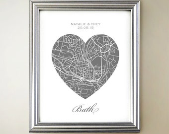 Bath Heart Map