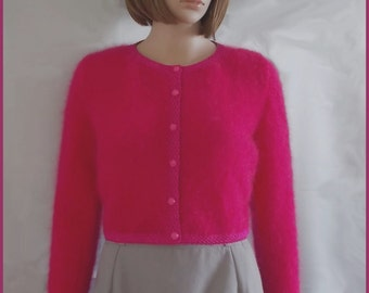 Mohair and Pink Ribbon women
