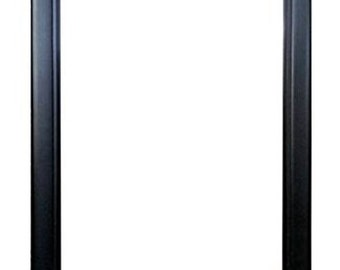 """12x24 Black Wood Picture/Poster Frame (12"""" X 24"""") 1 1/2"""""""
