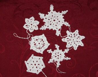 crochet snowflakes Nr. 9
