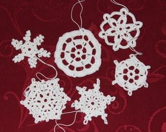 crochet snowflakes Nr. 7