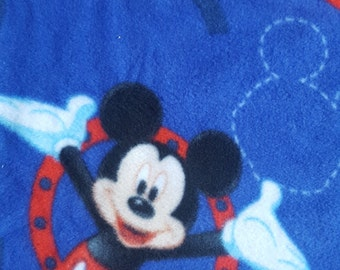Remnant - Disney's Mickey Mouse Fleece Fabric 19in