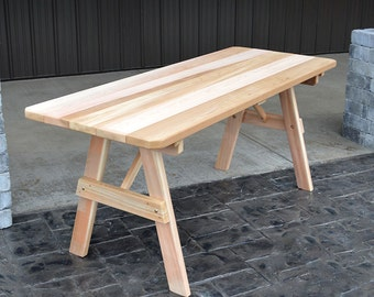 Red Cedar Traditional 4ft. Outdoor Table