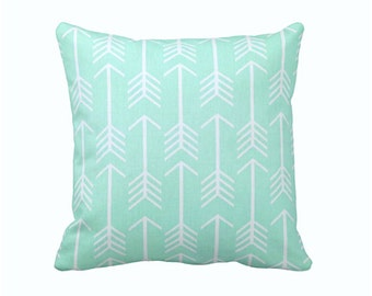 6 Sizes Available: Mint Green Decorative Throw Pillow Cover Sofa Pillow 12x16 18x18 20x20 22x22 24x24 Inches