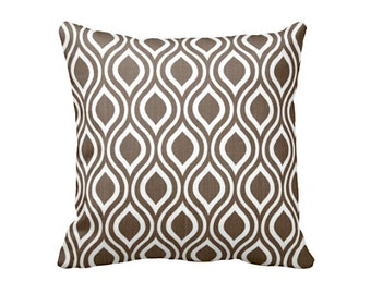 7 Sizes Available: Lumbar Pillow Euro Pillow 20x20 Pillow Cover 18x18 Pillow Cover 12x24 Pillow Cover Brown Throw Pillow Cover Brown Pillow