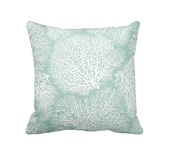 Green Throw Pillow Cover Sea Foam Pillows Sage Green Pillows