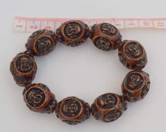 Asian or Oriental Buddha Head Expanding Bracelet