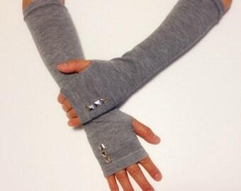 Arm Warmer Fingerless Gloves