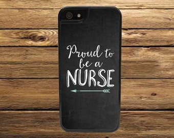Cell Phone Case - Proud To Be A Nurse Cell Phone Case - iPhone Cell Phone Cases - Samsung Galaxy Case - iPod Case