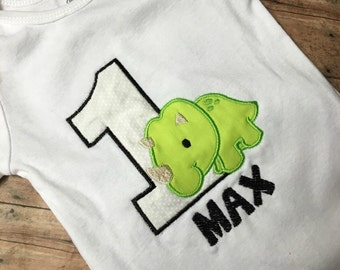 Dinosaur Birthday Onesie/Tshirt