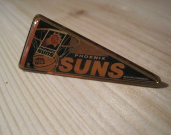 Vintage Phoenix Suns NBA Pennant Collectable Lapel/ Hat Pin
