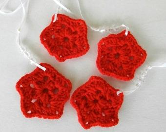 Awe Inspiring Items Similar To Silver Christmas Star Ornaments Set Of 3 Silver Easy Diy Christmas Decorations Tissureus