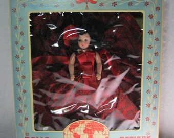 Dolls of All Nations Spanish Girl - 1940's with Original box