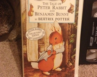 The Tale of Peter Rabbit and Benjamin Bunny (VHS, 1993) Beatrix Potter