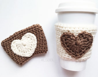 coffee creamer • drink cozy | coffee cozy | crochet