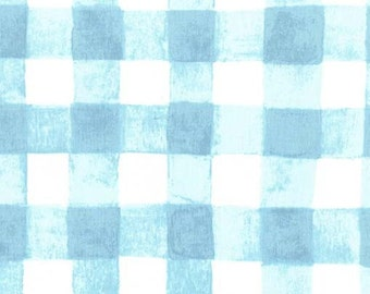 SOMMER by Sarah Jane for Michael Miller Fabrics in Painted Gingham - Robins Egg