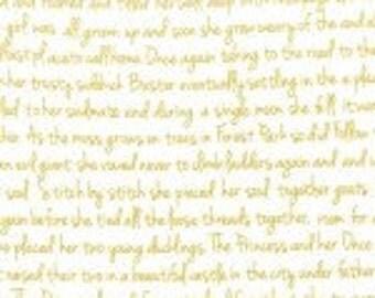 CHRISTMAS at BRAMBLEBERRY RIDGE Memoir in Gold by Violet Craft for Michael Miller Fabrics