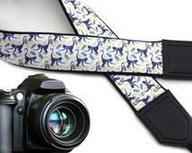 Monkey camera strap. Wildlife Animals DSLR / SLR Camera Strap. Cross body strap by InTePro