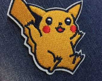 Small ready to ship pikachu patch