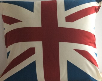 British Flag Cushion