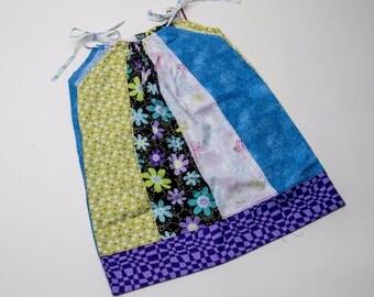 Fat Quarter Pillowcase Style Dress-2T