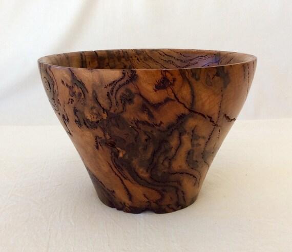 Decorative Wooden Boxes Australia : Burl bowl wooden australian yellow box