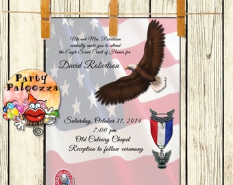 Printable Eagle Scout Invitation