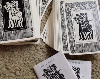 Double Deck Center for the Arts The Ink People Original Art Playing Cards