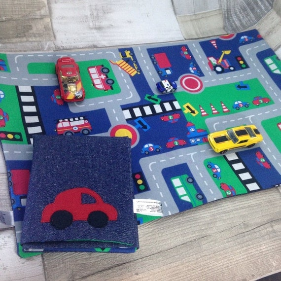 Toy Car Mat Children's Road Play Mat Large Size By