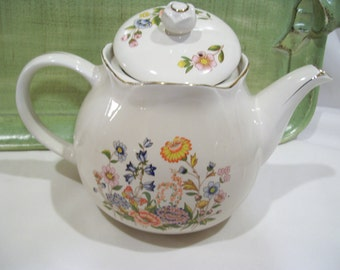 Flower Garden Teapot by Robinson Design Group, Made in Japan