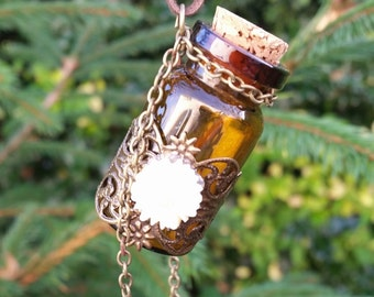 Mystical Wishing Jar Necklace