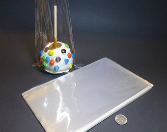 Clear Polypropylene 'Cellophane' Favor Treat Bags 6 x 10""