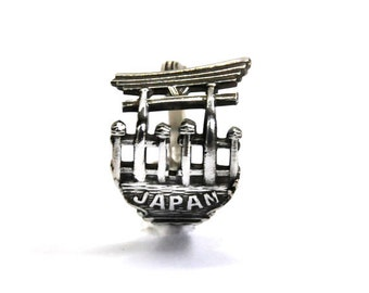 japan ring, japanese  ring, asian ring, spoon ring,